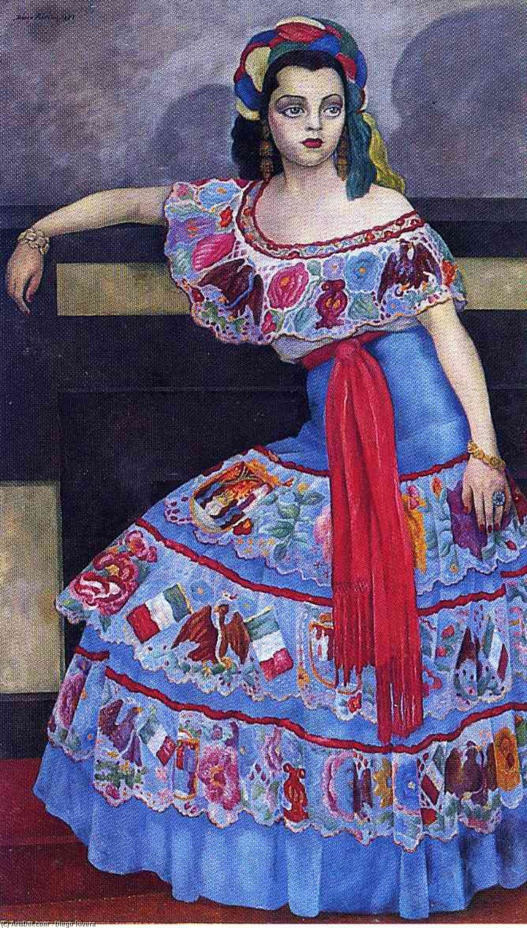 年命名 3809   通过 Diego Rivera (1886-1957, Mexico)
