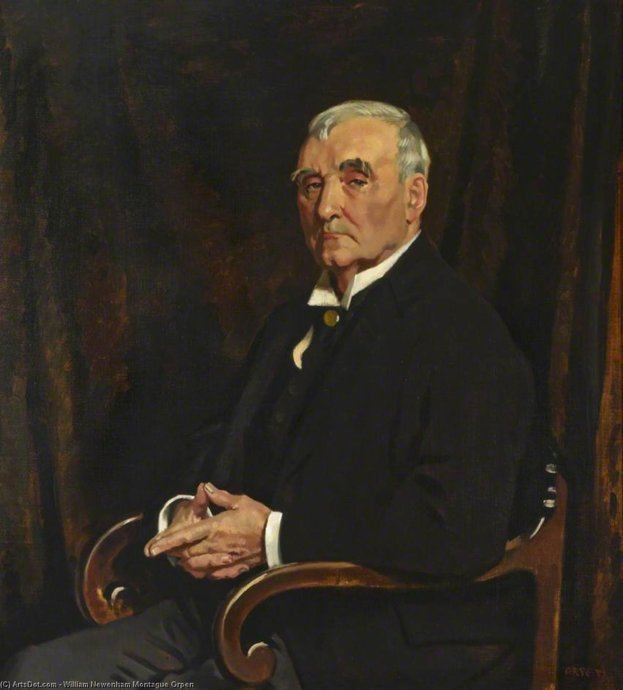 大卫 劳埃德  罗伯茨  通过 William Newenham Montague Orpen (1878-1931, Ireland)