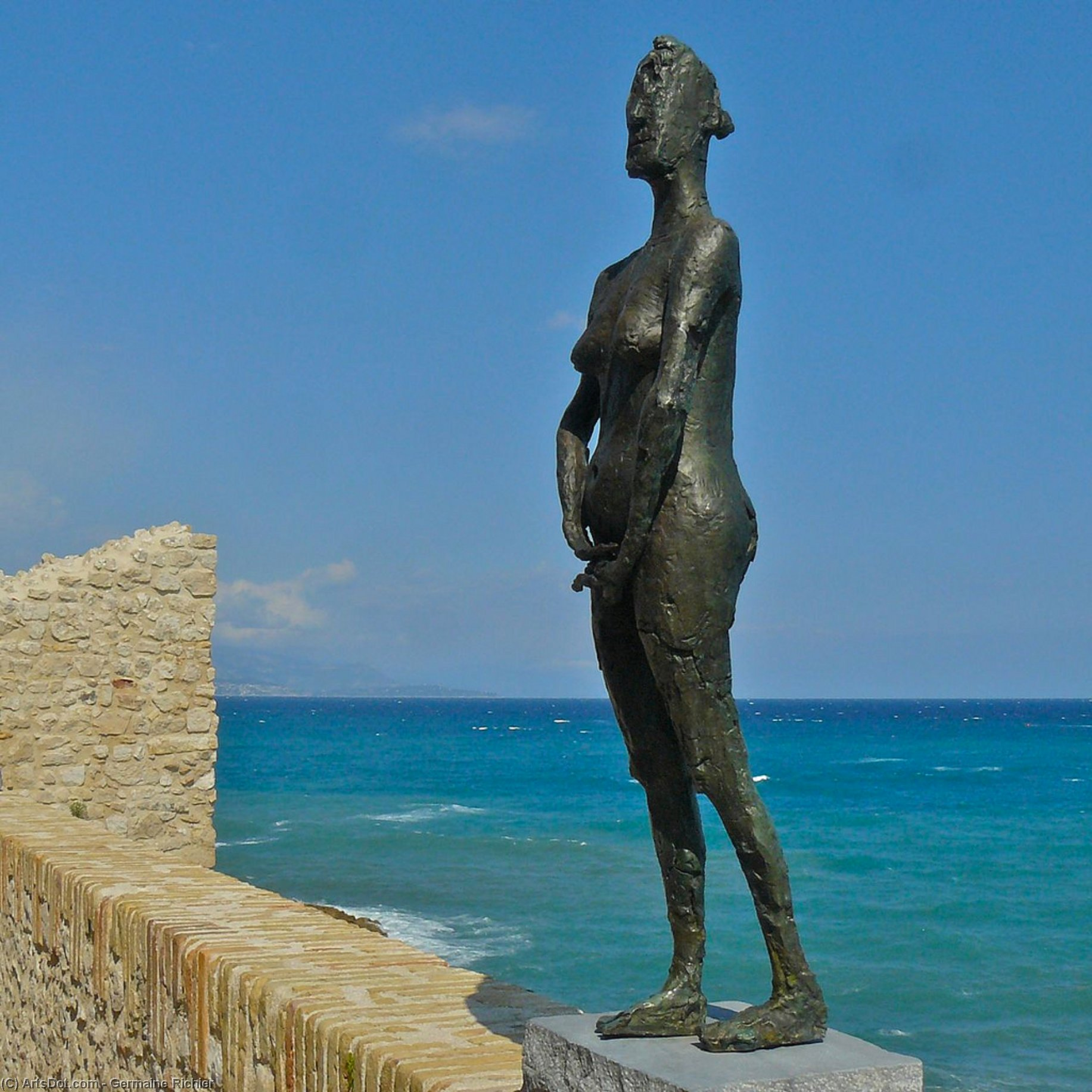 啦 vierge folle ( 2 ) 通过 Germaine Richier (1902-1959)