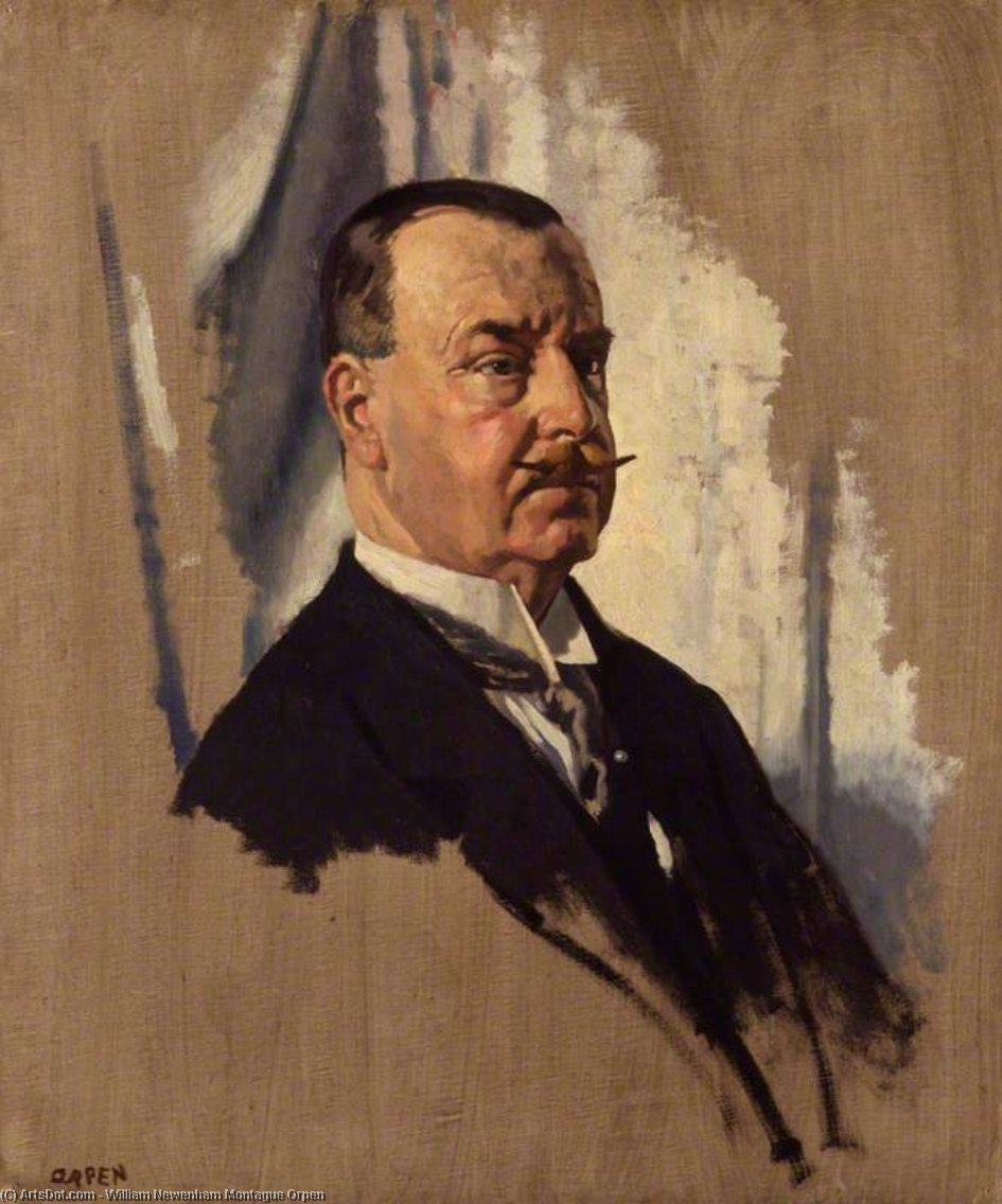 先生 约瑟夫  乔治  病房  通过 William Newenham Montague Orpen (1878-1931, Ireland)