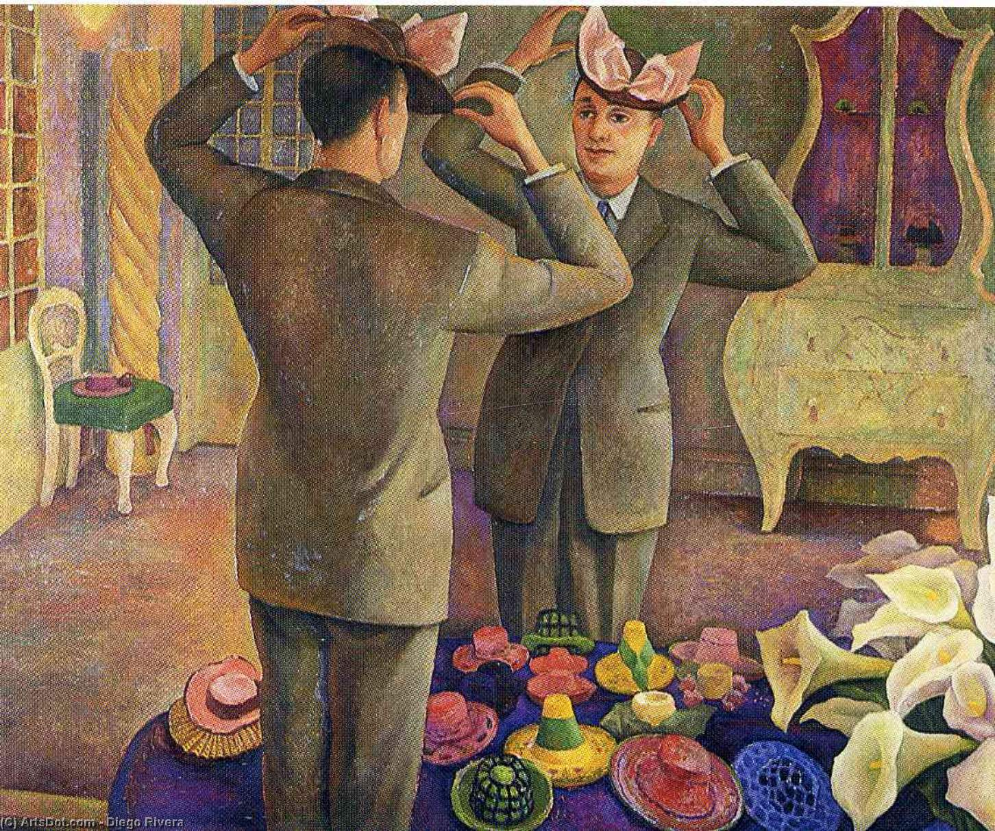 年命名 2721   通过 Diego Rivera (1886-1957, Mexico)