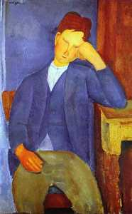Amedeo Modigliani - 年轻的学徒