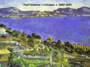 Paul Cezanne - L-Estaque