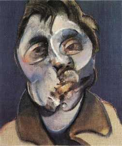 Francis Bacon - 自画像() 1969