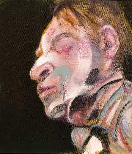 Francis Bacon - 自画像() 1972   乙