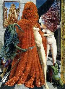Max Ernst - 新娘的Robing