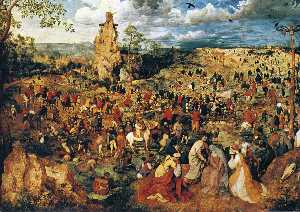 Pieter Bruegel The Elder - 耶稣背着十字架