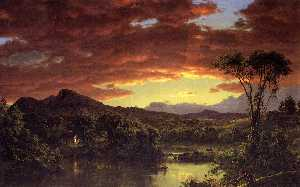 Frederic Edwin Church - 一个国家 首页