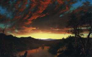 Frederic Edwin Church - 荒野中的暮光