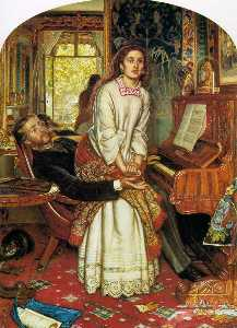 William Holman Hunt - 觉醒的良心