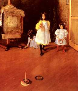 William Merritt Chase - 环抛