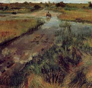 William Merritt Chase - 肿流在辛纳科克