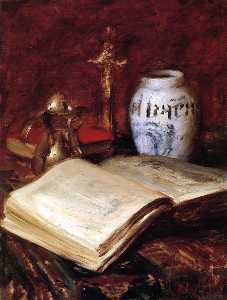 William Merritt Chase -  的  老  书