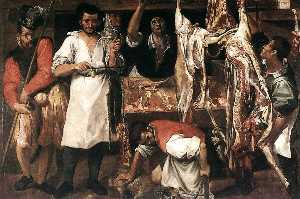 Annibale Carracci - 肉店
