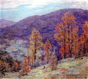 Willard Leroy Metcalf - Autum 荣耀