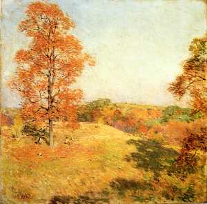 Willard Leroy Metcalf - 螺母聚会