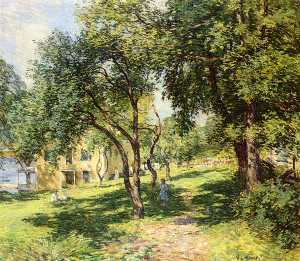 Willard Leroy Metcalf - 路径