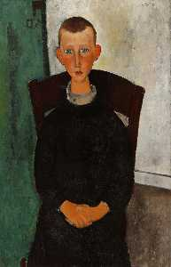 Amedeo Modigliani - 礼宾的儿子