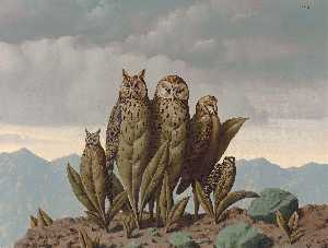 Rene Magritte - 恐惧的同伴