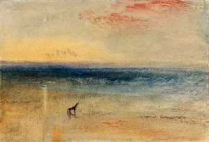 William Turner - 沉船后,黎明