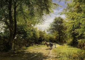 Peder Mork Monsted - 年轻牛郎