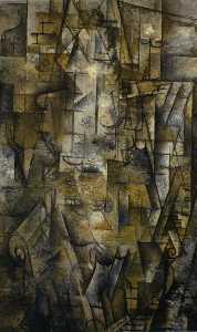 Georges Braque - 女性  阅读