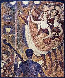 Georges Pierre Seurat - Chahut