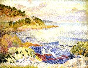 Henri Edmond Cross - 普罗旺斯海岸