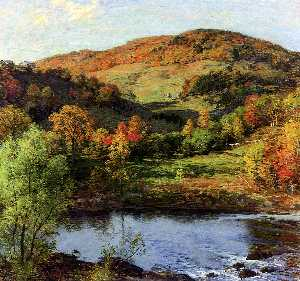 Willard Leroy Metcalf - 黄金嘉年华