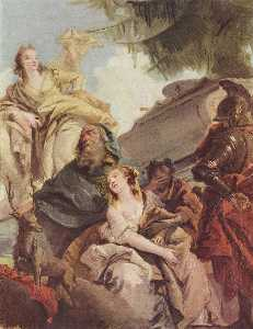Giovanni Battista Tiepolo - 伊菲革涅亚的牺牲