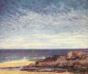 Gustave Courbet - 海海岸诺曼底
