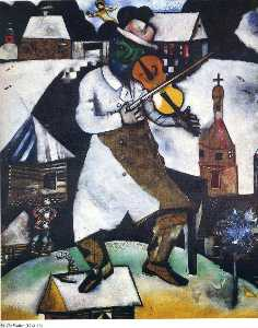 Marc Chagall - 提琴手