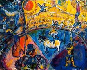 Marc Chagall -  的 马戏团