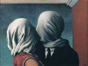 Rene Magritte - 这对恋人