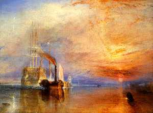 William Turner - 的 'Fighting Temeraire' 扯了..