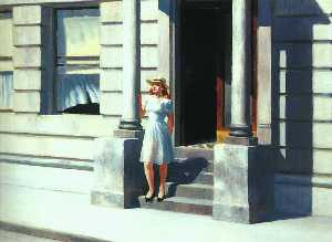 Edward Hopper - 夏令