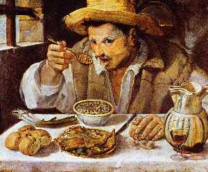 Annibale Carracci - 该beaneater 阳光