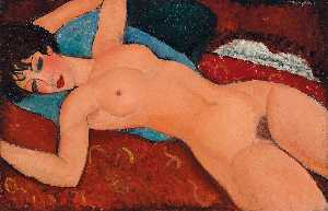 Amedeo Modigliani - 红 裸体