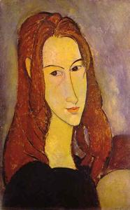 Amedeo Modigliani - 肖像的女孩