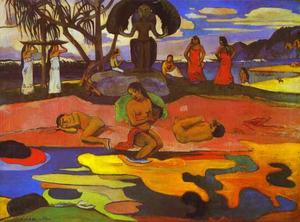 Paul Gauguin - Mahana no atua ( 上帝的日子 )