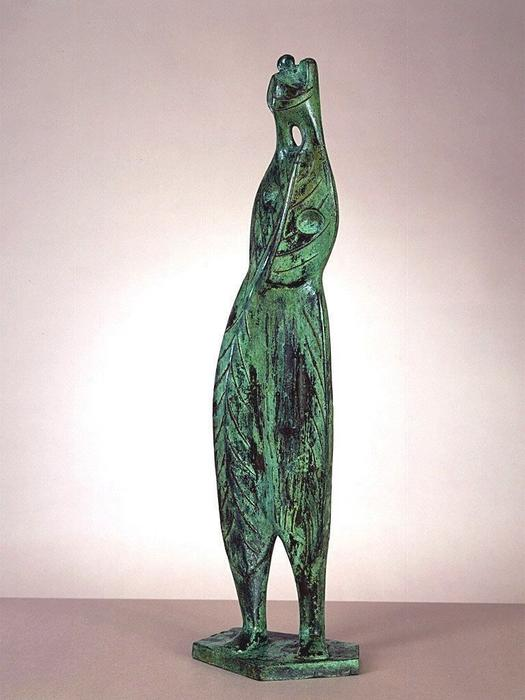 叶图3号 通过 Henry Moore (1898-1986, United Kingdom) | 幀打印 | ArtsDot.com