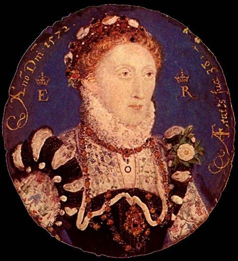 伊丽莎白一世的缩影 通过 Nicholas Hilliard (1577-1619, United Kingdom) | ArtsDot.com