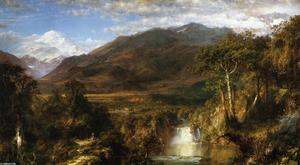 Frederic Edwin Church - 的心脏 of  的 Andes