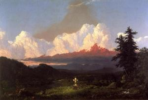 Frederic Edwin Church -  到 内存 的 油菜