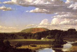 Frederic Edwin Church - 西岩,纽黑文