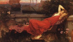 John William Waterhouse - 阿里阿德涅