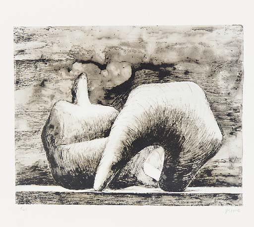 斜倚  图 10 通过 Henry Moore (1898-1986, United Kingdom) | 幀畫冊專輯 | ArtsDot.com