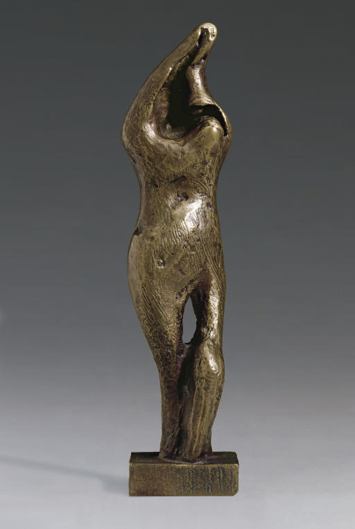 站在 女性 通过 Henry Moore (1898-1986, United Kingdom)