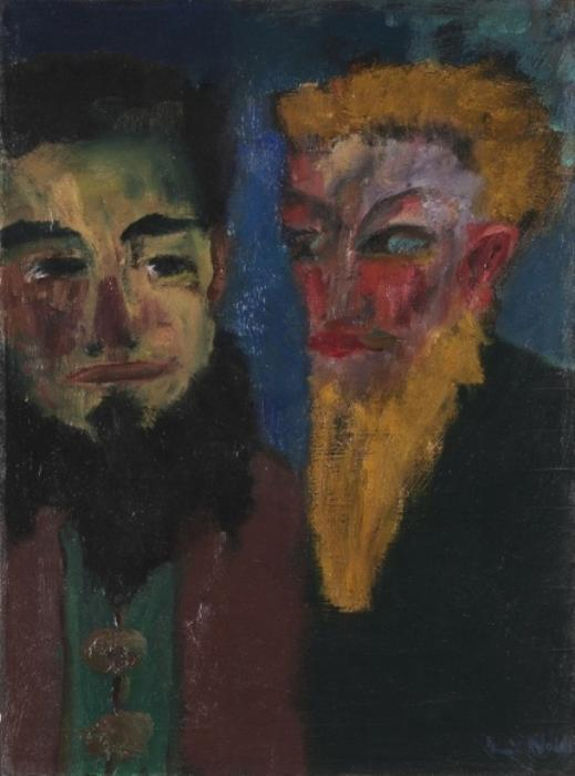金匠 通过 Emile Nolde (1867-1956, Germany)