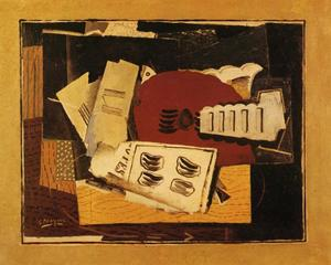 Georges Braque - 吉他 片  音乐
